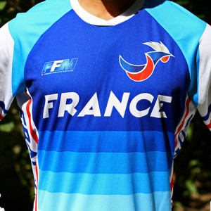 Maillot officiel des Equipes de France 2019